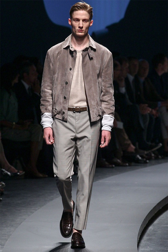 MILAN FASHION WEEK- Ermenegildo Zegna Men's RTW Spring 2014. www.imageamplified.com, Image Amplified (20)