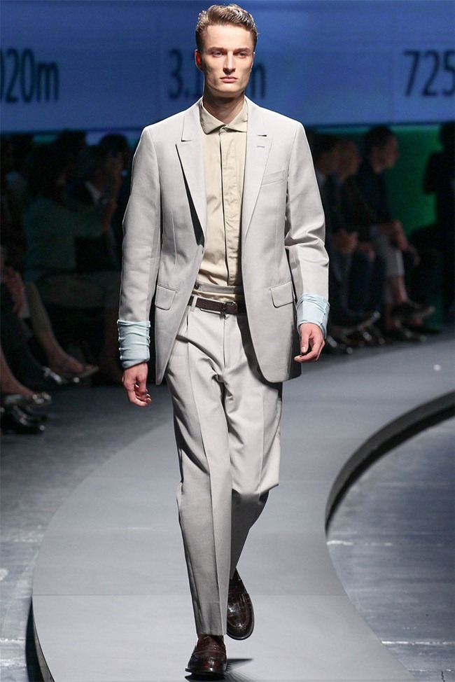 MILAN FASHION WEEK- Ermenegildo Zegna Men's RTW Spring 2014. www.imageamplified.com, Image Amplified (21)