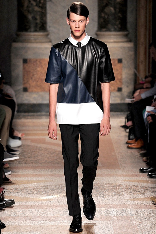 MILAN FASHION WEEK- Les Hommes Men's RTW Spring 2014. www.imageamplified.com, Image Amplified (3)