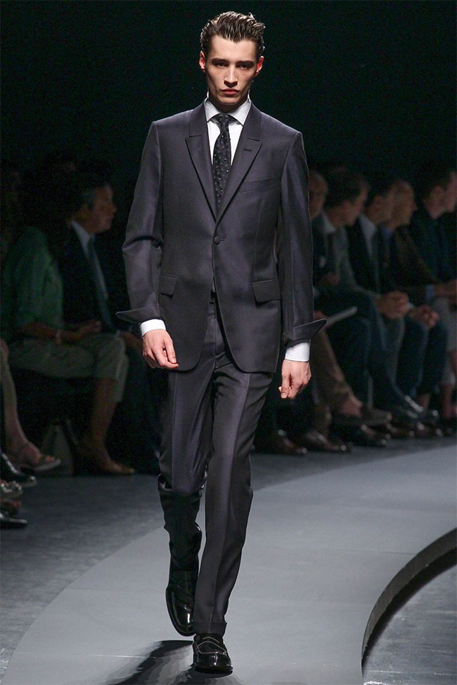 MILAN FASHION WEEK- Ermenegildo Zegna Men's RTW Spring 2014. www.imageamplified.com, Image Amplified (40)