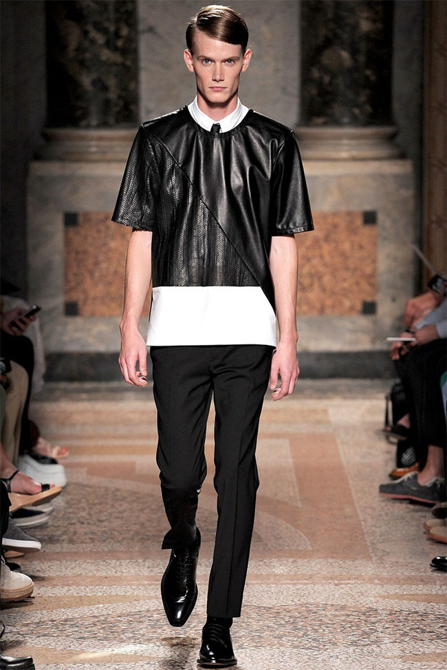MILAN FASHION WEEK- Les Hommes Men's RTW Spring 2014. www.imageamplified.com, Image Amplified (16)