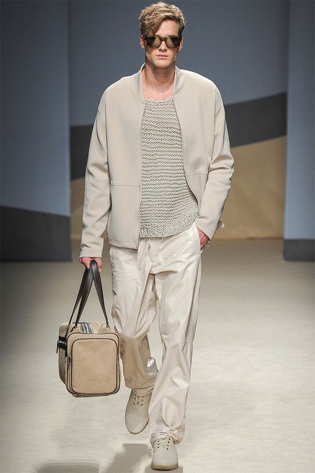 MILAN FASHION WEEK- Trussardi Men's RTW Spring 2014. www.imageamplified.com, Image Amplified (1)