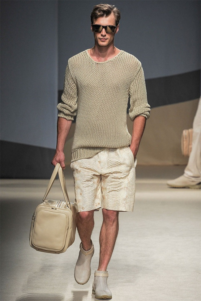 MILAN FASHION WEEK- Trussardi Men's RTW Spring 2014. www.imageamplified.com, Image Amplified (4)