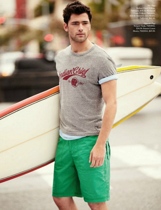 CATALOGUE Sean O'Pry for Lucky Brand Summer 2013. www.imageamplified.com, Image Amplified (5)