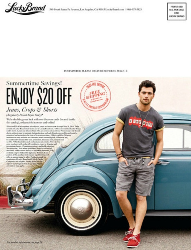 CATALOGUE Sean O'Pry for Lucky Brand Summer 2013. www.imageamplified.com, Image Amplified (11)