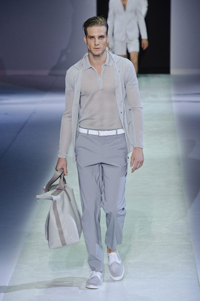 MILAN FASHION WEEK Emporio Armani Men's RTW Spring 2014. www.imageamplified.com, Image Amplified (28)