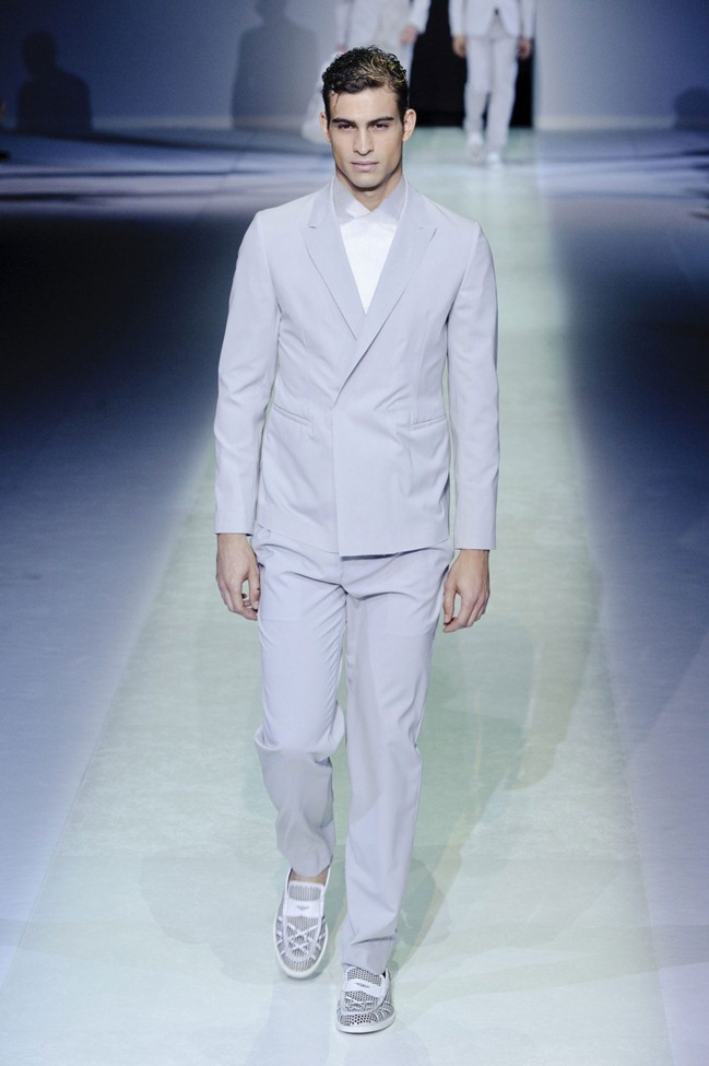 MILAN FASHION WEEK Emporio Armani Men's RTW Spring 2014. www.imageamplified.com, Image Amplified (30)