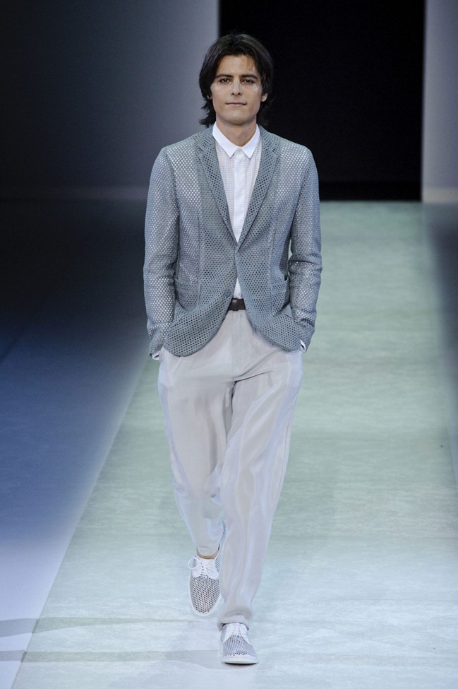 MILAN FASHION WEEK Emporio Armani Men's RTW Spring 2014. www.imageamplified.com, Image Amplified (34)