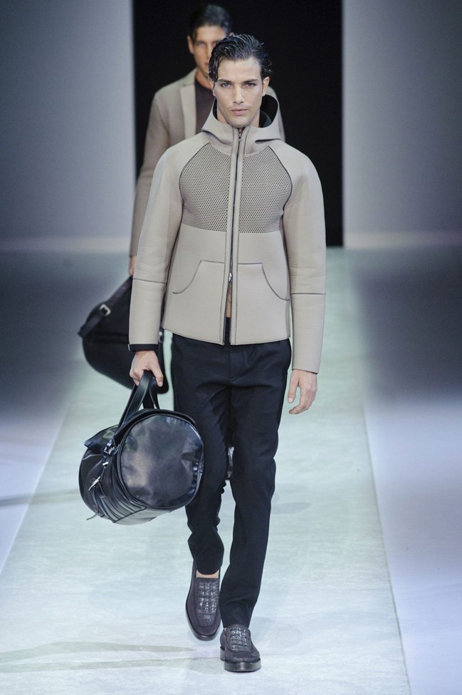 MILAN FASHION WEEK Emporio Armani Men's RTW Spring 2014. www.imageamplified.com, Image Amplified (21)