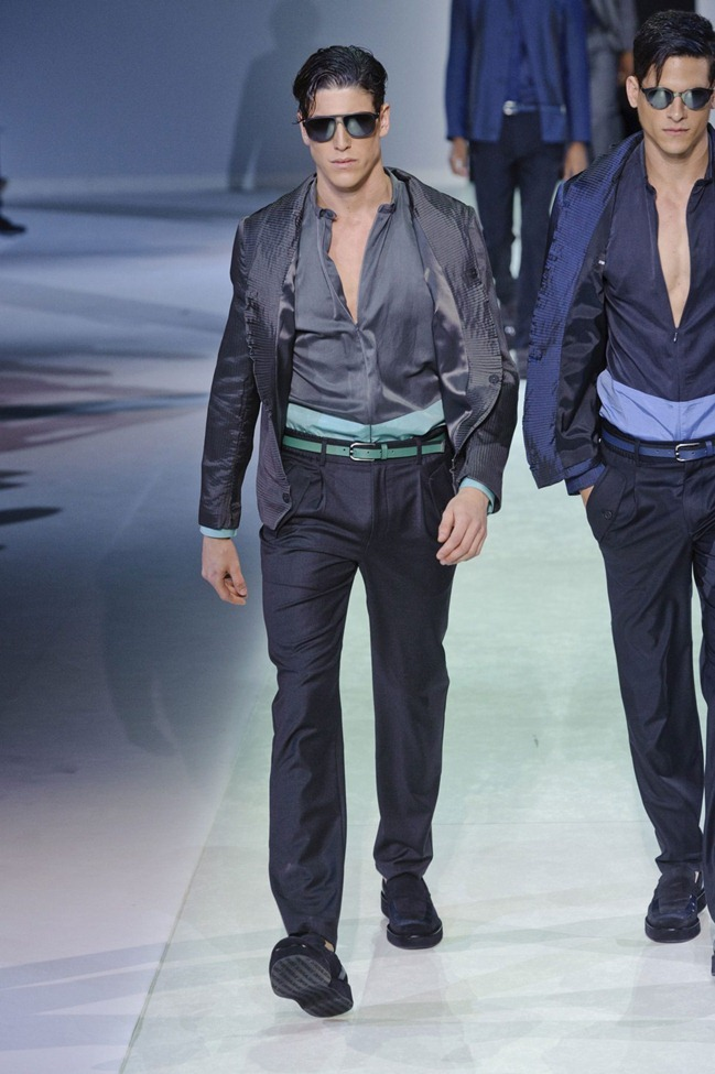 MILAN FASHION WEEK Emporio Armani Men's RTW Spring 2014. www.imageamplified.com, Image Amplified (65)