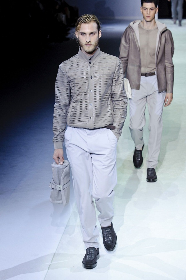 MILAN FASHION WEEK Emporio Armani Men's RTW Spring 2014. www.imageamplified.com, Image Amplified (76)