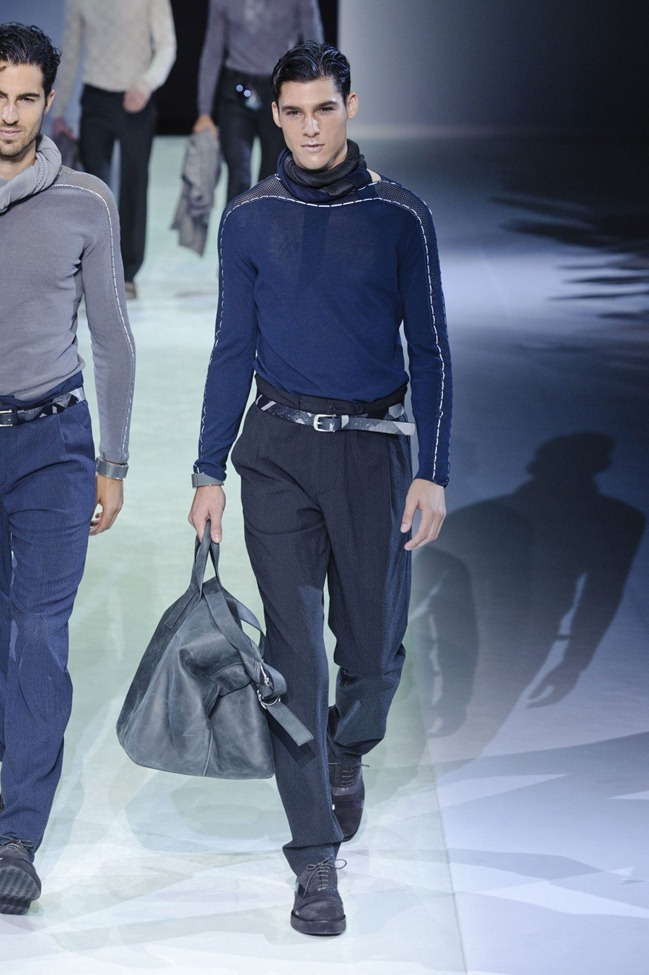 MILAN FASHION WEEK Emporio Armani Men's RTW Spring 2014. www.imageamplified.com, Image Amplified (78)