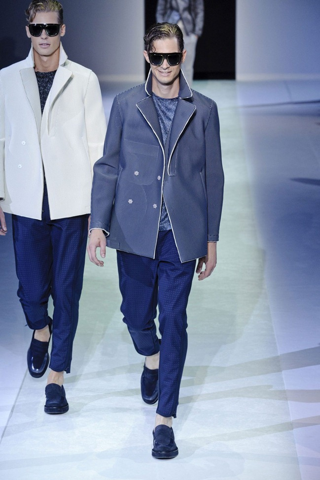 MILAN FASHION WEEK Emporio Armani Men's RTW Spring 2014. www.imageamplified.com, Image Amplified (79)