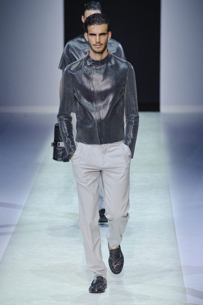 MILAN FASHION WEEK Emporio Armani Men's RTW Spring 2014. www.imageamplified.com, Image Amplified (80)