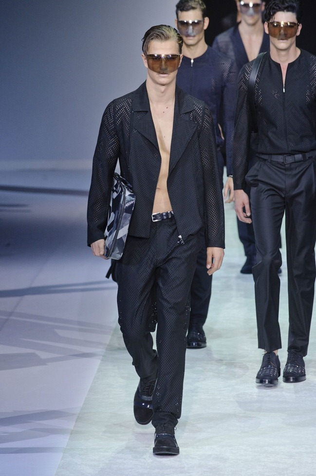 MILAN FASHION WEEK Emporio Armani Men's RTW Spring 2014. www.imageamplified.com, Image Amplified (101)