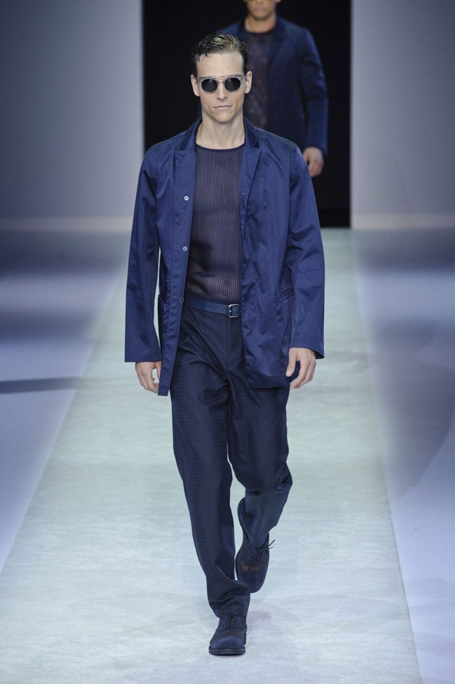 MILAN FASHION WEEK Emporio Armani Men's RTW Spring 2014. www.imageamplified.com, Image Amplified (110)