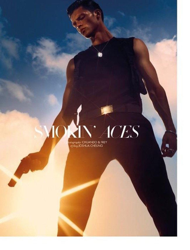 STYLE MEN MAGAZINE Silviu Tolu in Smokin Aces by Chaundo & Frey. www.imageamplified.com, Image Amplified (3)