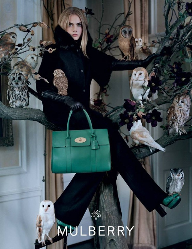 CAMPAIGN Cara Delevigne for Mulberry Fall 2013 by Tim Walker. www.imageamplified.com, Image Amplified (7)