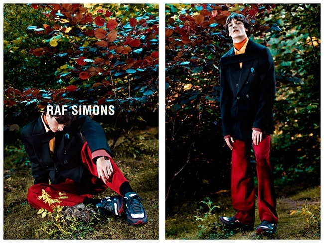 CAMPAIGN Luca Lemaire for Raf Simons Fall 2013 by Willy Vanderperre. www.imageamplified.com, Image Amplified (3)