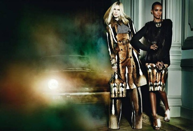 CAMPAIGN Iselin Steiro, Liu Wen & Liya Kebede for Roberto Cavalli Fall 2013 by Mario Testino. www.imageamplified.com, Image Amplified (3)