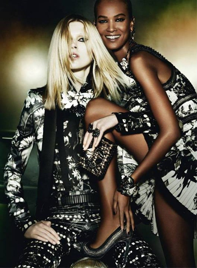 CAMPAIGN Iselin Steiro, Liu Wen & Liya Kebede for Roberto Cavalli Fall 2013 by Mario Testino. www.imageamplified.com, Image Amplified (4)