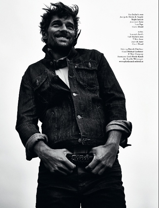 L'OFFICIEL HOMMES Michael Gstoettner in Dirty Denim by Irina Gavrich. www.imageamplified.com, Image Amplified (8)