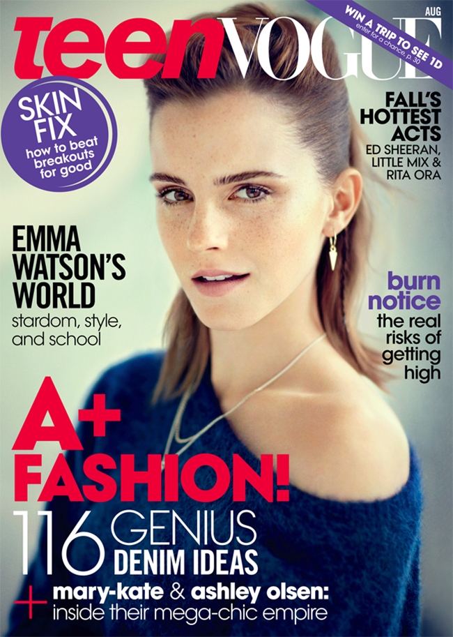 TEEN VOGUE Emma Watson in Breaking Bad by Boo George. Havana Laffitte, August 2013, Veronique Didry, www.imageamplified.com, Image Amplified (4)