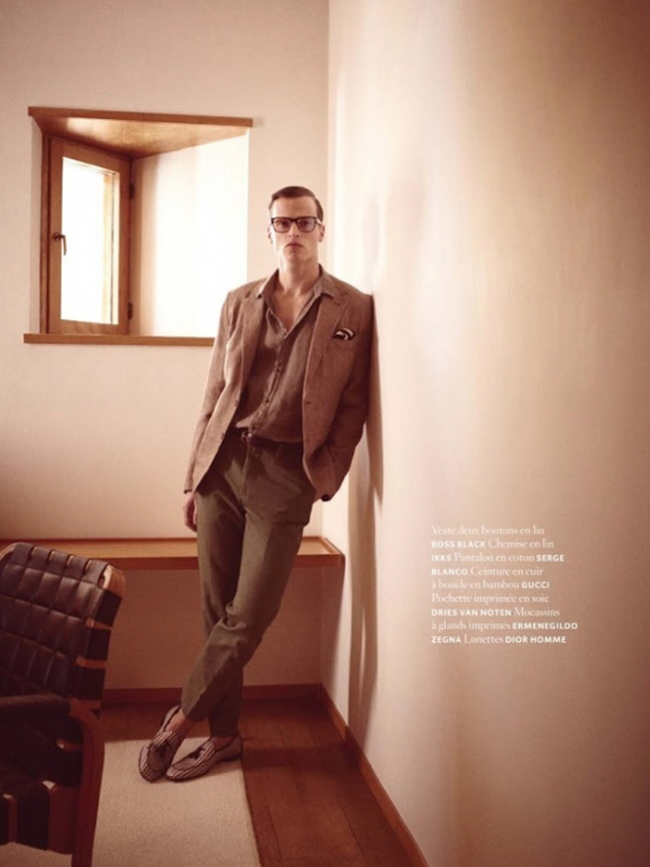 AIR FRANCE MAGAZINE- Lars Burmeister in A Single Man by Stephane Gallois. www.imageamplified.com, Image Amplified (4)