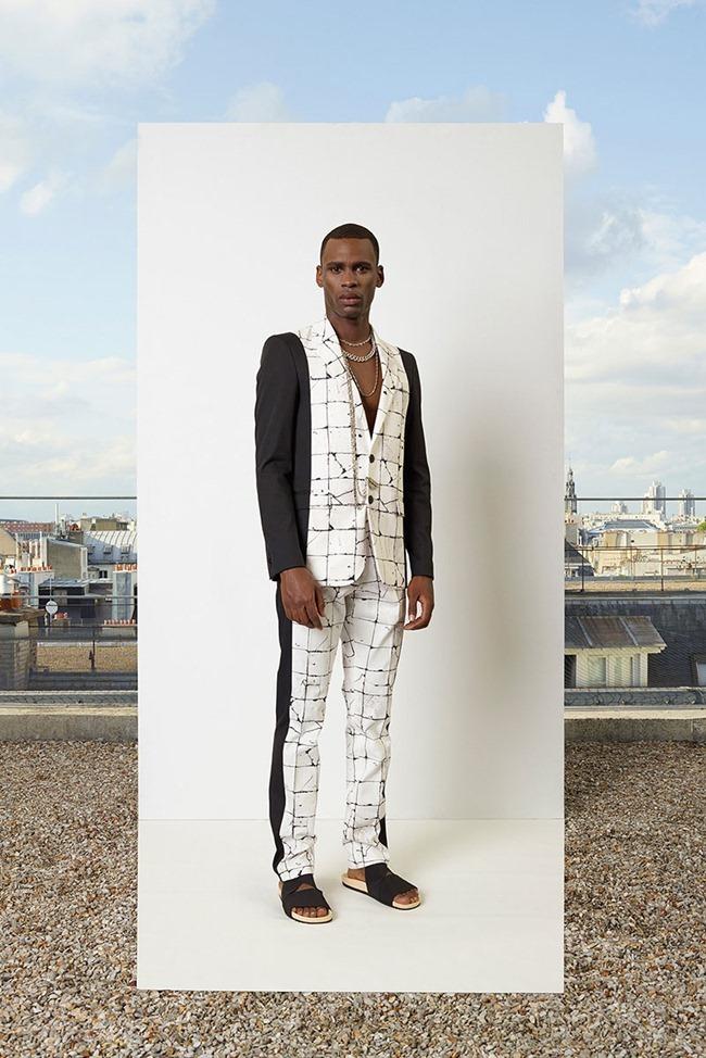 PARIS FASHION WEEK Jean Paul Gaultier Men's RTW Spring 2014. www.imageamplified.com, Image Amplified (5)
