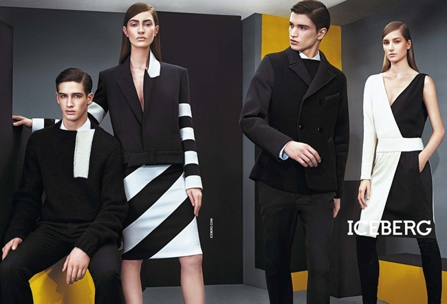 CAMPAIGN- Marine Deleeuw, Mijo Mihaljcic, Josephine le Tutour, Ian Sharp, Matthew Bell & Alexander Ferrario for Iceberg Fall 2013 by Sharif Hamza. www.imageamplified.com, Image Amplified (5)