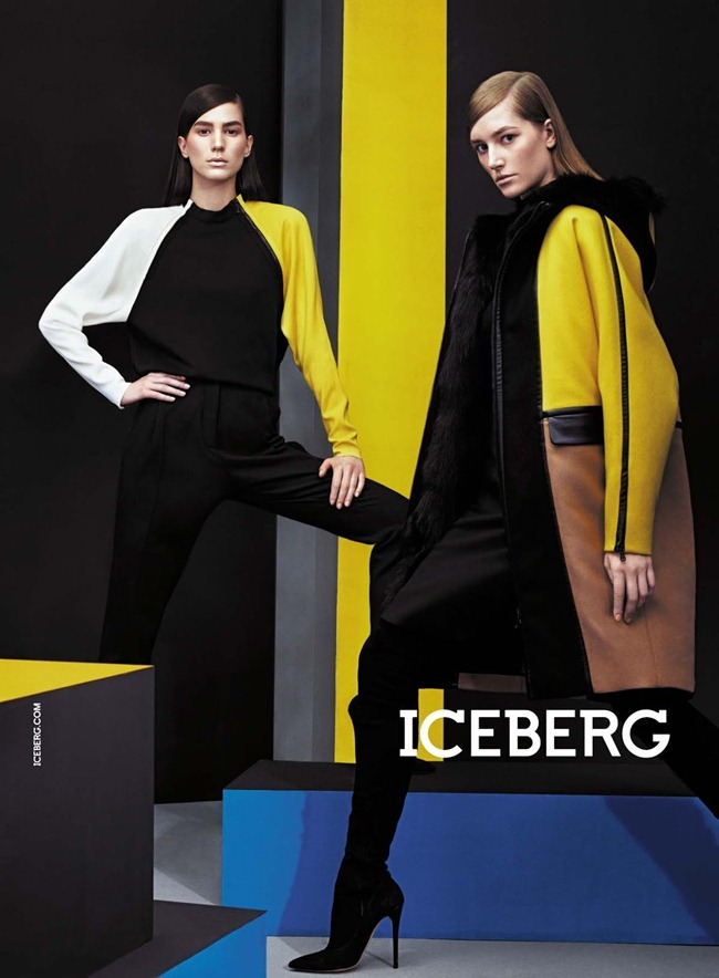 CAMPAIGN- Marine Deleeuw, Mijo Mihaljcic, Josephine le Tutour, Ian Sharp, Matthew Bell & Alexander Ferrario for Iceberg Fall 2013 by Sharif Hamza. www.imageamplified.com, Image Amplified (6)