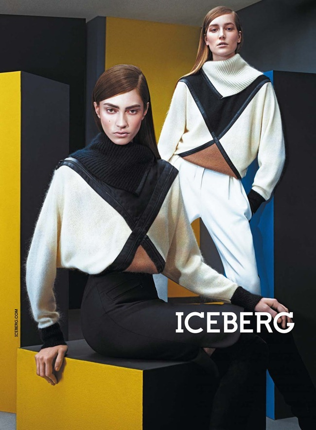 CAMPAIGN- Marine Deleeuw, Mijo Mihaljcic, Josephine le Tutour, Ian Sharp, Matthew Bell & Alexander Ferrario for Iceberg Fall 2013 by Sharif Hamza. www.imageamplified.com, Image Amplified (7)