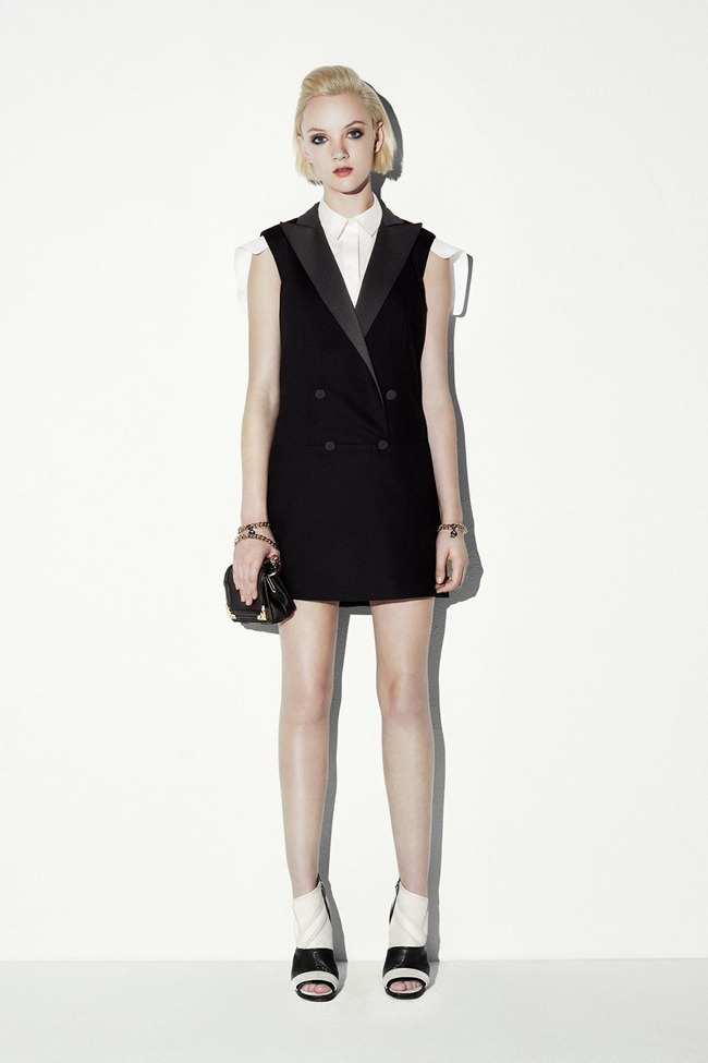COLLECTION- April Tiplady for McQ Alexander McQueen Resort 2014. www.imageamplified.com, Image Amplified (11)