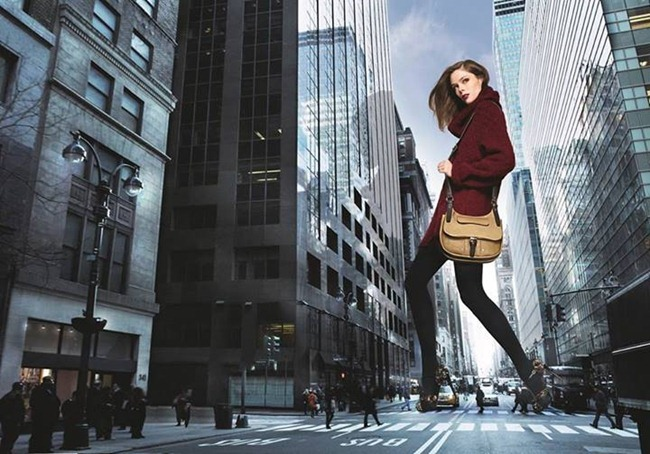 PREVIEW- Coco Rocha for LongChamp Fall 2013. www.imageamplified.com, image Amplified