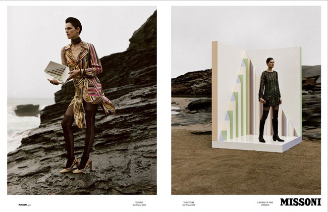 CAMPAIGN Stella Tennant & Paul Sculfor for Missoni Fall 2013 by Alasdair McLellan. www.imageamplified.com, Image Amplified (3)