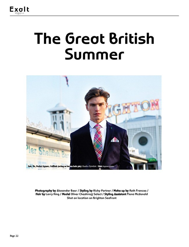 EXALT MAGAZINE Oliver Cheshire in The Great British Summer by Alexander Beer. Ricky Partner, www.imageamplified.com, Image Amplified (6)
