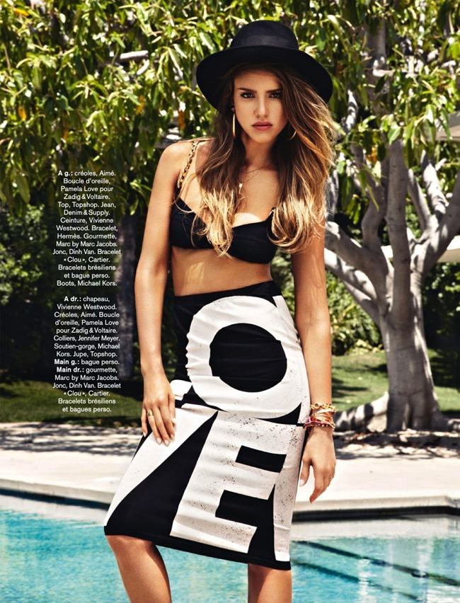 GLAMOUR FRANCE Jessica Alba in Icone Mode & Vraie Fille Cool by Jason Kim. Sebastien Cambos, August 2013, www.imageamplified.com, Image Amplified (2)