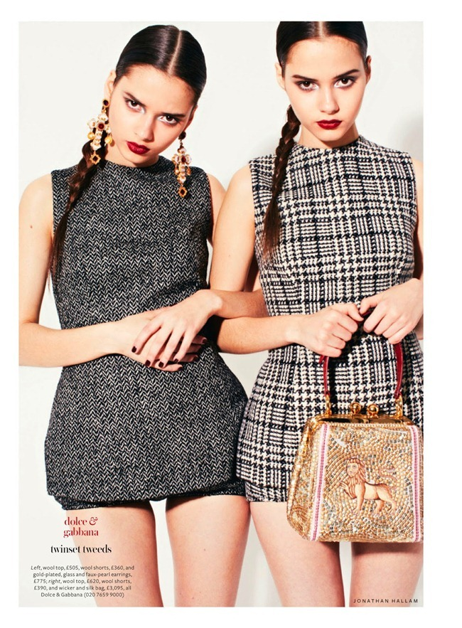 INSTYLE UK- The Bloom Twins in Show & Tell by Jonathan Hallam. Amanda Bellan, August 2013, www.imageamplified.com, Image Amplified (4)