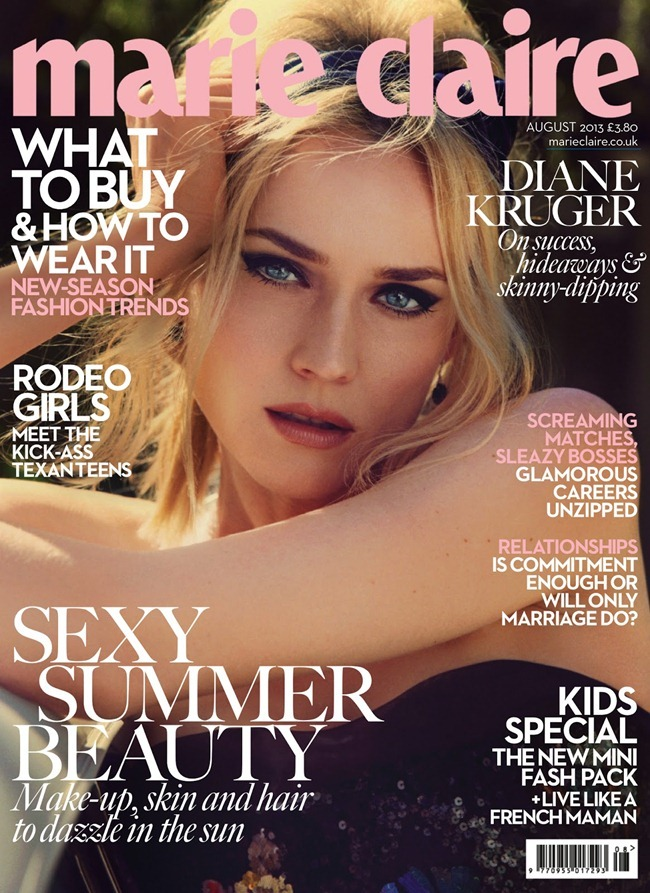 MARIE CLAIRE UK- Diane Kruger in Driving Ambition by David Roemer. Arabella Greenhill, August 2013, www.imageamplified.com, Image Amplified (8)