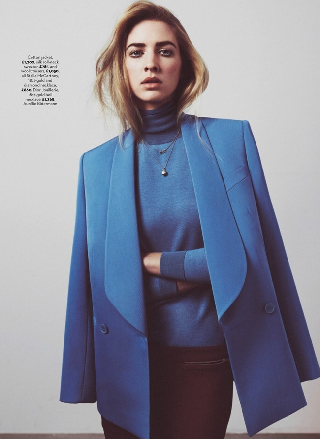 MARIE CLAIRE UK- Margot Milani in Man Up by Kalle Gustafsson. Birgitte Mahrt, August 2013, www.imageamplified.com, Image Amplified (1)