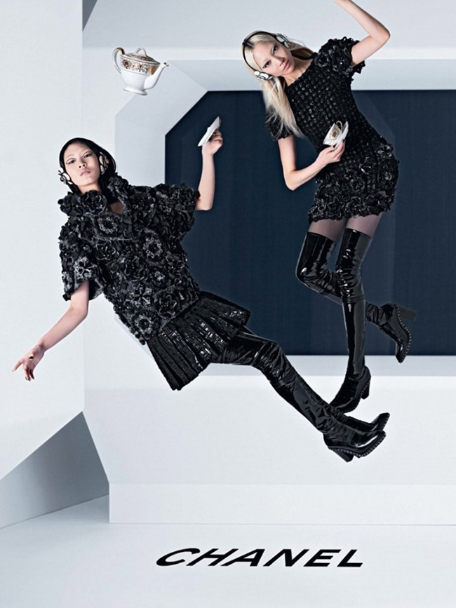CAMPAIGN Ashleigh Good, Soo Joo & Chiharu Okunugi for Chanel Fall 2013 by Karl Lagerfeld. www.imageamplified.com, Image Amplified (3)