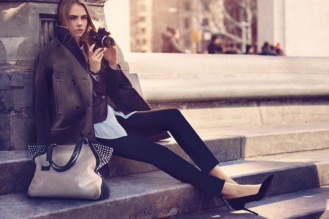 CAMPAIGN Cara Delevigne for DKNY Fall 2013. www.imageamplified.com, Image Amplified (17)