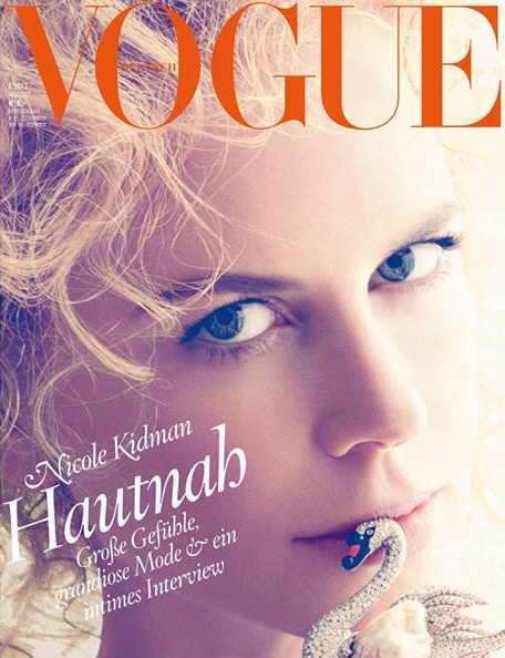 PREVIEW: Nicole Kidman for Vogue Germany, August 2013 by Photographer Camilla Akrans
