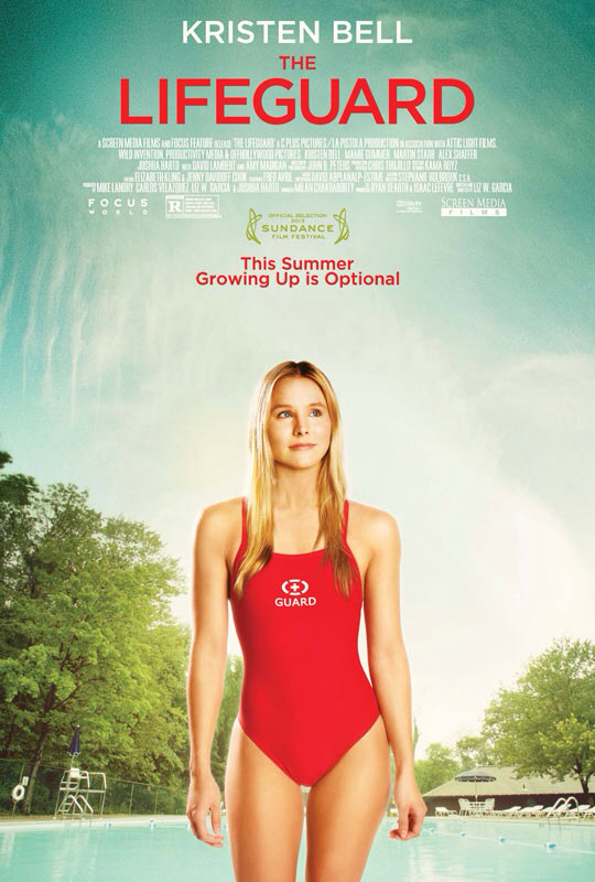CINEMA SCAPE: The Lifeguard by Liz W. Garcia Starring Kristen Bell. In Theaters August 30, 2013