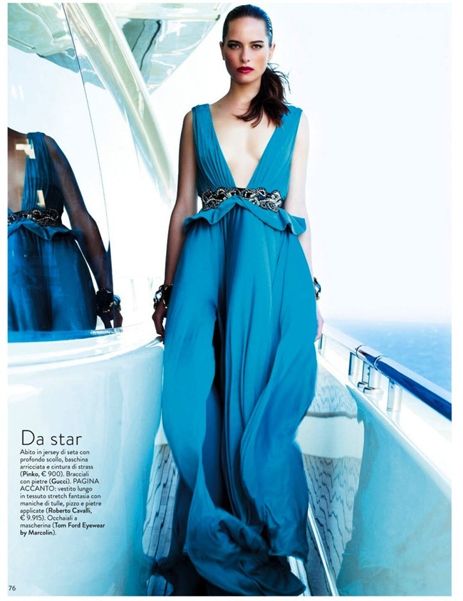 GRAZIA ITALIA Vanessa Hegelmaier in Stile Yacht by Roberto D'este. Alessia Aghemo, July 2013, www.imageamplified.com, Image Amplified (3)