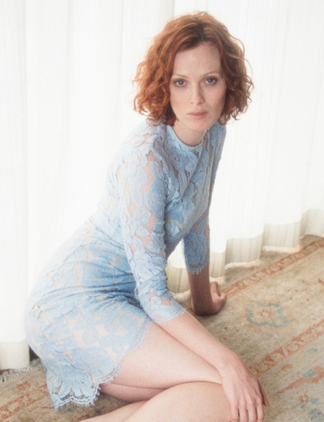 CAMPAIGN- Karen Elson for Lover Fall 2013 by Lina Scheynius. www.imageamplified.com, Image Amplified (6)