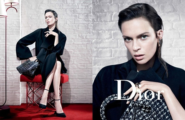 CAMPAIGN- Mariacarla Boscono, Elise Crombez, DAria Strokous & Iselin Steiro for Dior Fall 2013 by Willy Vanderperre. www.imageamplified.com, Image Amplified (4)