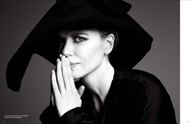 VOGUE GERMANY- Nicole Kidman in Don't Strike A Pose. Be You by Patrick Demarchelier. Christine Arp, August 2013, www.imageamplified.com, Image Amplified (4)