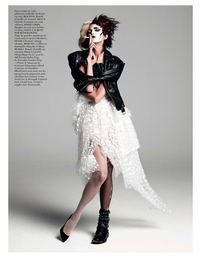 VOGUE PARIS- Anja Rubik in God Save the Queen by Inez & Vinoodh. Emmanuelle Alt, August 2013, www.imageamplified.com, Image Amplified (8)