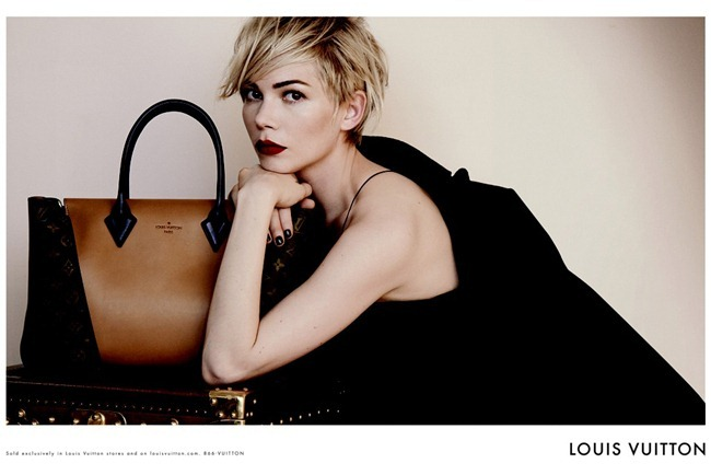 CAMPAIGN Michelle Williams for Louis Vuitton Handbags 2013 by Peter Lindbergh. www.imageamplified.com, Image Amplified (2)